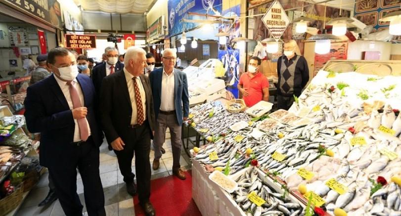 Başkan Gürün, Milas İlçesinde Ziyaretlerde Bulundu