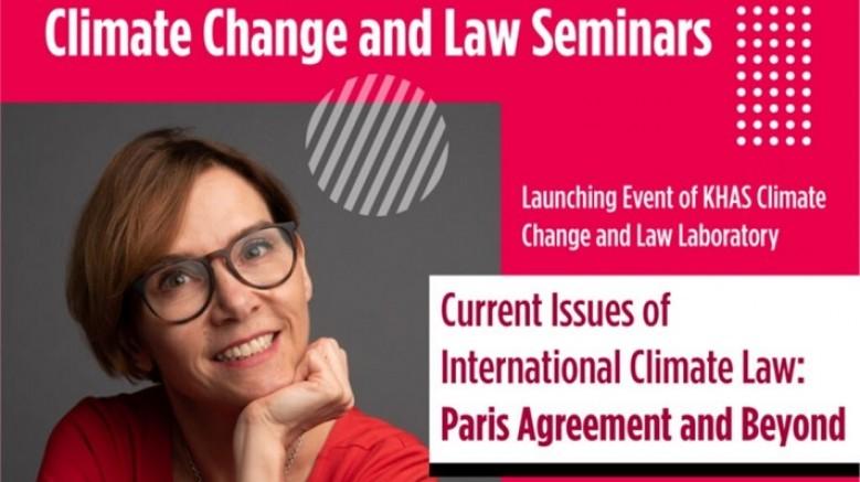 İklim Değişikliği ve Hukuk Laboratuvarı (CCLLAB) Kuruluyor