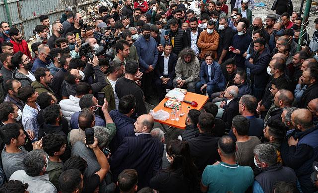 Kılıçdaroğlu, kağıt toplayıcılarla bir araya geldi