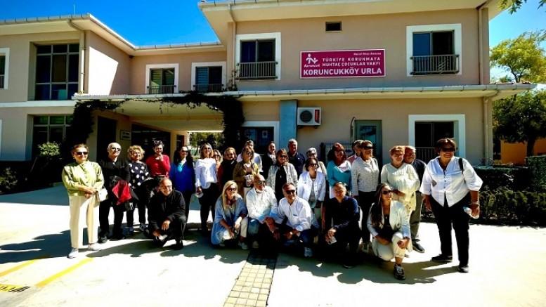 Koruncuk Vakfı Yönetimi  İzmir gönüllüleri ile buluştu