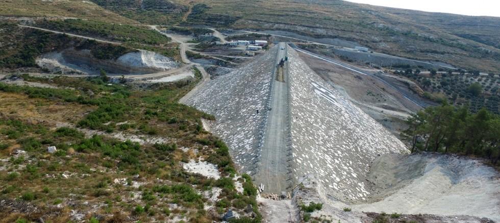 Manisa Belenyenice Barajı gün sayıyor