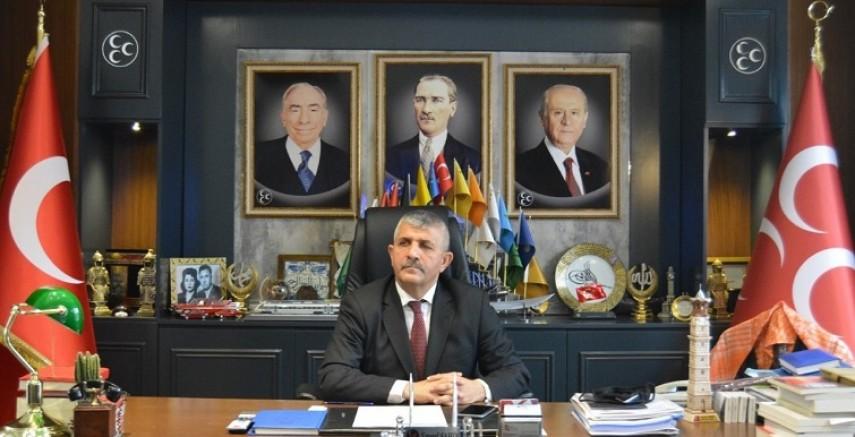 MHP İl Başkanı Şahin'den Deniz Yücel'e Cevap