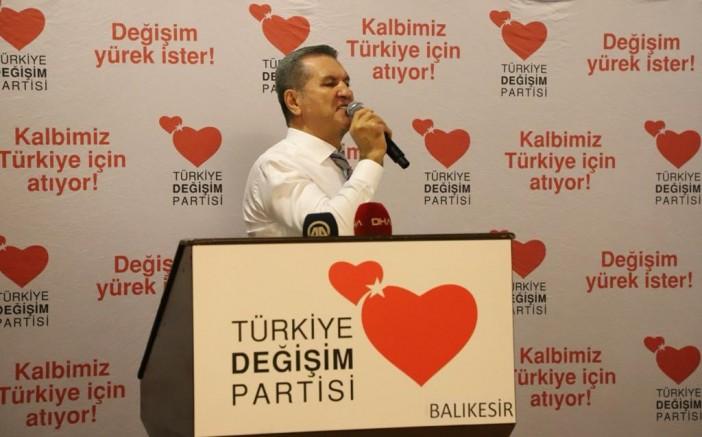 Türkiye Değişim Partisi Genel Başkanı Sayın Mustafa Sarıgül, Balıkesir de muhtarlarla biraraya geldi.