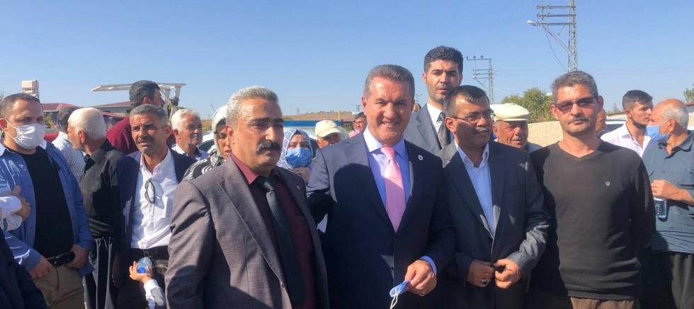 Türkiye Değişim Partisi Genel Başkanı Sayın Mustafa Sarıgül, Kilis  Musabeyli  Yedigöz Köyün'e ziyarette bulundu.