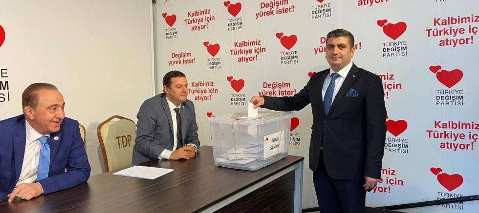 Türkiye Değişim Partisi Kurultay'ında yeni MYK da şekillendi. TDP'nin MYK listesinde yer alan isimler dikkat çekti.