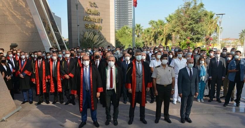 Yeni Adli Yıl İzmir Adliyesi'nde Düzenlenen Törenle Başladı